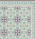 PVC vinyl mat Tiles Pattern Decorative  linoleum rug  Kitchen Mat Azure And Purple 106 , FREE SHIPPING