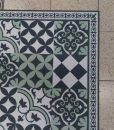 SALE – PVC vinyl mat linoleum rug kitchen mat 160/80 cm  312 – Gray