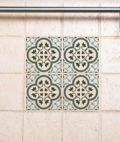 Tile Decals Kitchen/Bathroom tiles vinyl floor tiles free shipping – design 170