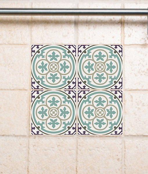 Tile Decals,  Kitchen/Bathroom tiles, vinyl, wall floor tiles, kitchen decoratiom, free shipping – 106