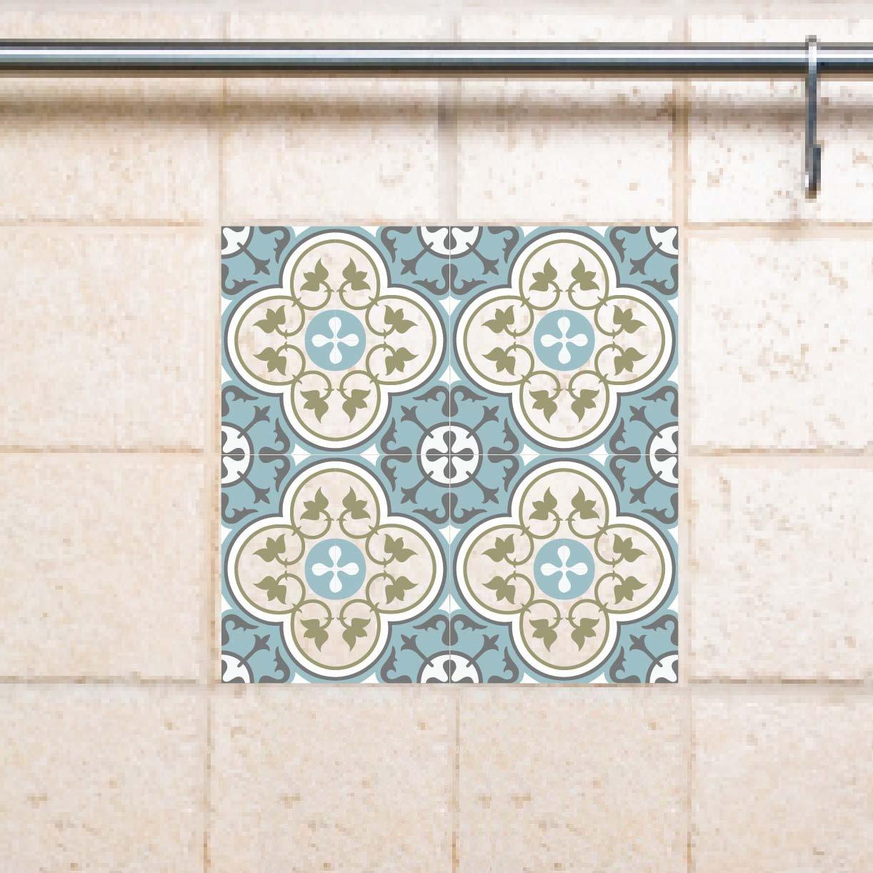 Tile Decals Kitchen Bathroom Tiles Vinyl Wall Floor Tiles Kitchen Decoratiom Free Shipping 178 Vanill Co