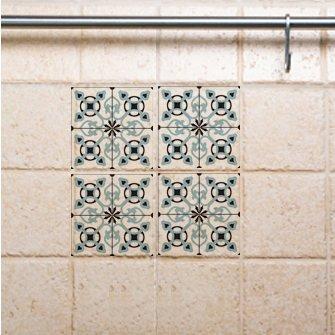 Tile Decals,  Kitchen/Bathroom tiles, vinyl, wall floor tiles, kitchen decoratiom, free shipping – 714