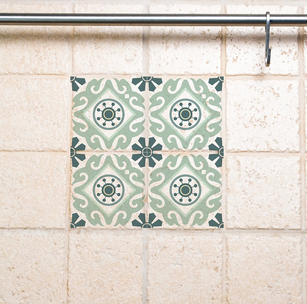 Tile Wall Decals Traditional Tiles Stickers Tiles Decals Tiles