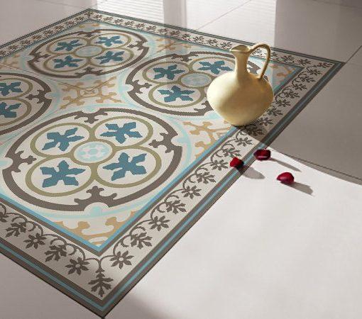 Traditional Tiles – Floor Tiles – Floor Vinyl – Tile Stickers – Tile Decals – bathroom tile decal – kitchen tile decal – 104