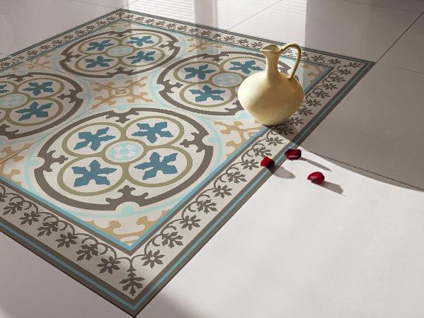 Traditional Tiles Floor Tiles Floor Vinyl Tile Stickers Tile Decals Bathroom Tile Decal Kitchen Tile Decal 104 Vanill Co