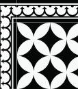Traditional Tiles – Floor Tiles – Floor Vinyl – Tile Stickers – Tile Decals – bathroom tile decal – kitchen tile decal – 132